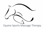 Equine Sports Massage Horse Therapy Logo